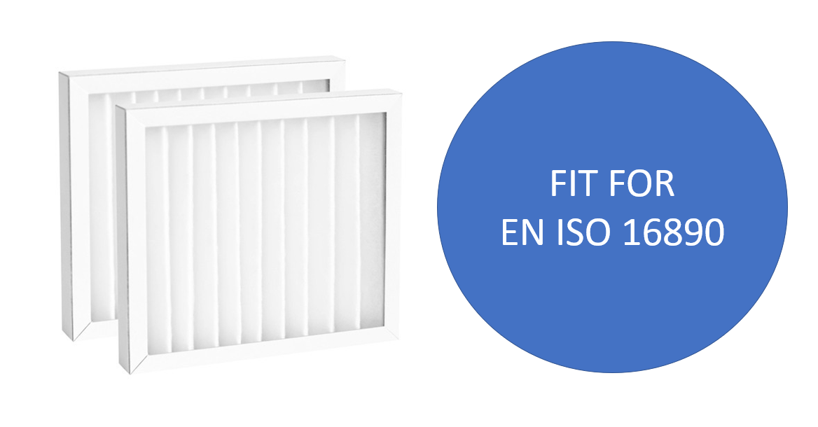 fit to EN ISO 16890 standard