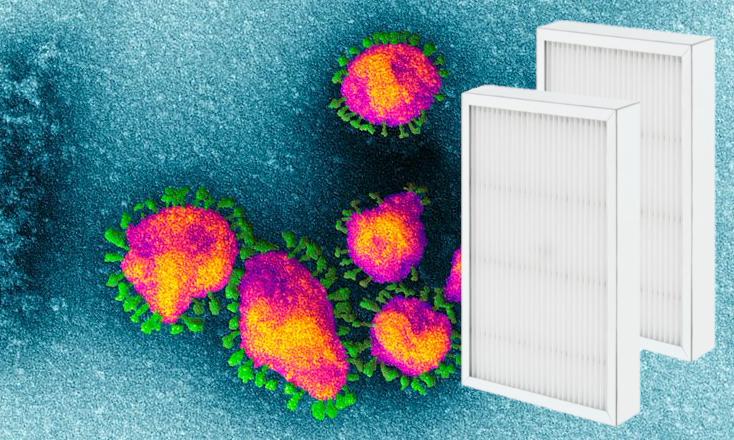 corona virus ventilation filters