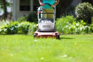 lawn mower sound